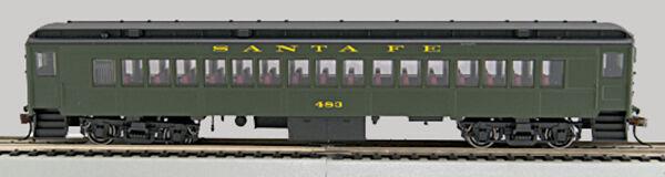 Ho P-54 Santa Fe entrenador, techo verde de lados, BK (0001-094010-A)