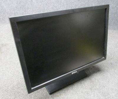 LOT OF 2 Dell E2009W// 1909W Monitor ACEPTABLE DEEP SCRATCHES ON SCREEN W// CABLES