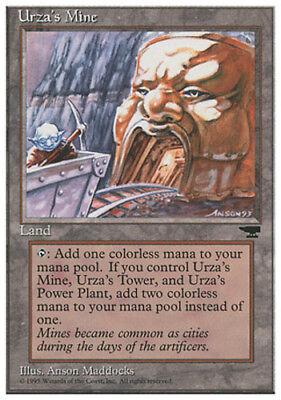 English Chronicles MTG Magic NM-Mint Pulley 1x Urza/'s Mine