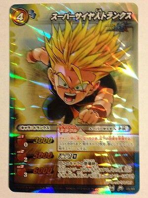 Dragon Ball Miracle Battle Carddass Db11-85 Mr Trunks Super Saiyan Luminoso A Colori