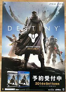 Destiny-RARE-SONY-PS3-PS4-51-5-cm-x-73-cm-Japanese-Promo-Poster-2