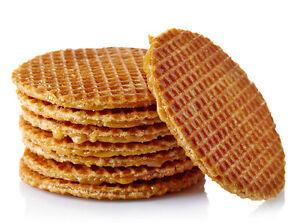 Original Dutch Stroopwafels Treacle Waffle Syrup Waffle Handmade 10pcs 716894754003 Ebay