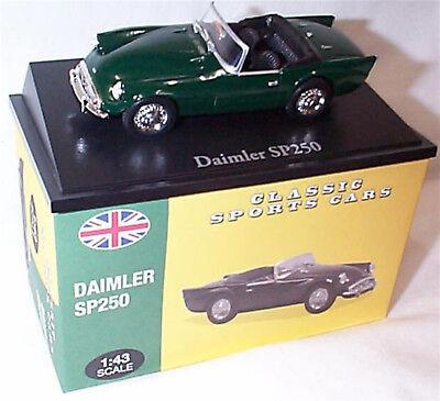 Daimler SP250 verde 1:43 modelo coche 26 Atlas