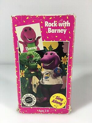 Barney and the Backyard Gang Rock With Barney VHS Tape ...