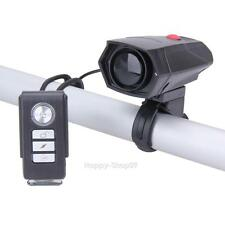3 in 1 Bicycle Wireless Remote Control Alarm Horn Bell with Light for Cycling