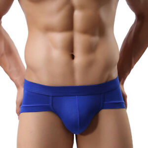 hombre-transpirable-Calzoncillos-Lenceria-Sexy-Boxer-Pantalones-Cortos