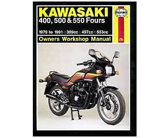 kawasaki z400 z500 z550 haynes workshop service manual ebay rh ebay co uk Kawasaki Z300 Kawasaki Z300