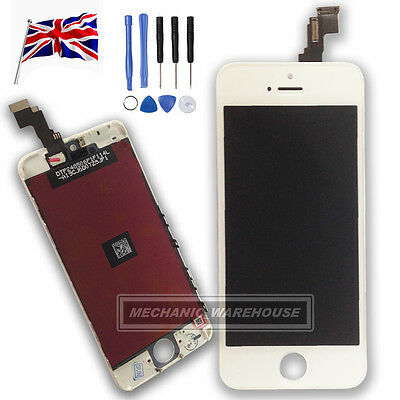 Apple White iPhone 5C LCD Display Touch Screen Digitizer Assembly Replacement uk