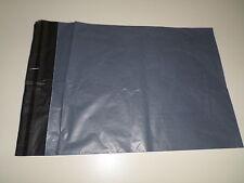 """10 X Grigio Forte mailing borse 9 x 12"""" 230 x 300MM biodegradabili GRATIS"""