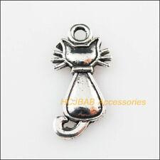 10Pcs Hollow Diamond Charm Tibetan Silver Tone Pendant  Charms Pendants 15x18mm