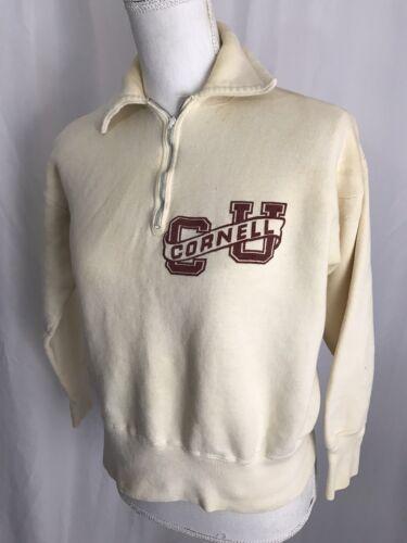 Vintage Sports Wear 50s Cornell University Quarter