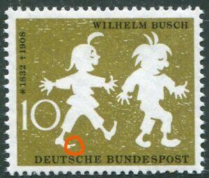 Bund-281-I-postfrisch-Plattenfehler-geschwollener-Zeh-BRD-Michel-80-00-MNH