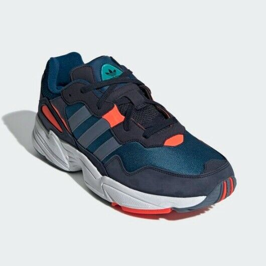 New Adidas Men's Originals Yung-96 Athletic shoes Sneakers - bluee(DB2596)