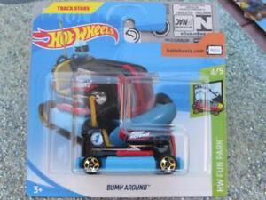 Hot-Wheels-2018-019-365-Bump-Around-Negro-Dodgems-Hw-Diversion-Parque