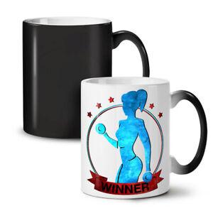 Winner Gym Fitness NEW Colour Changing Tea Coffee Mug 11 oz | Wellcoda