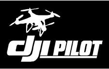 DJI Phantom 3 , 4 Drone Pilot Window / Hard Case Decal Sticker  FREE SHIP
