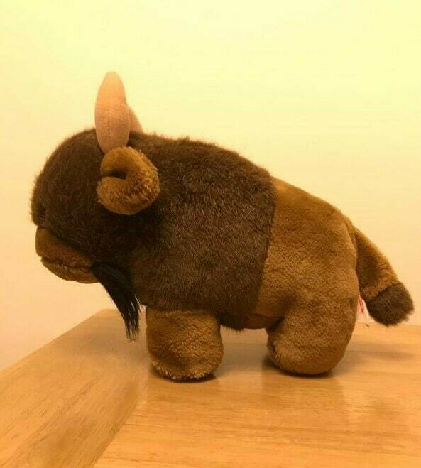 VINTAGE 1984 DAKIN LARGE NORTH AMERICAN BUFFALO BISON PLUSH STUFFED SOFT TOY 11