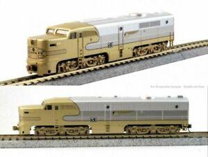 KATO-176053L-N-Scale-Locomotive-ALCO-PA-1-Santa-Fe-Goldbonnet-53L-176-053L