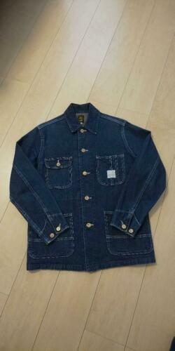 Sugar Cane Denim Coverall from Japan