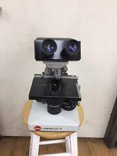 Leitz Laborlux 11 Inspection Binocular Microscope With Four Objectives