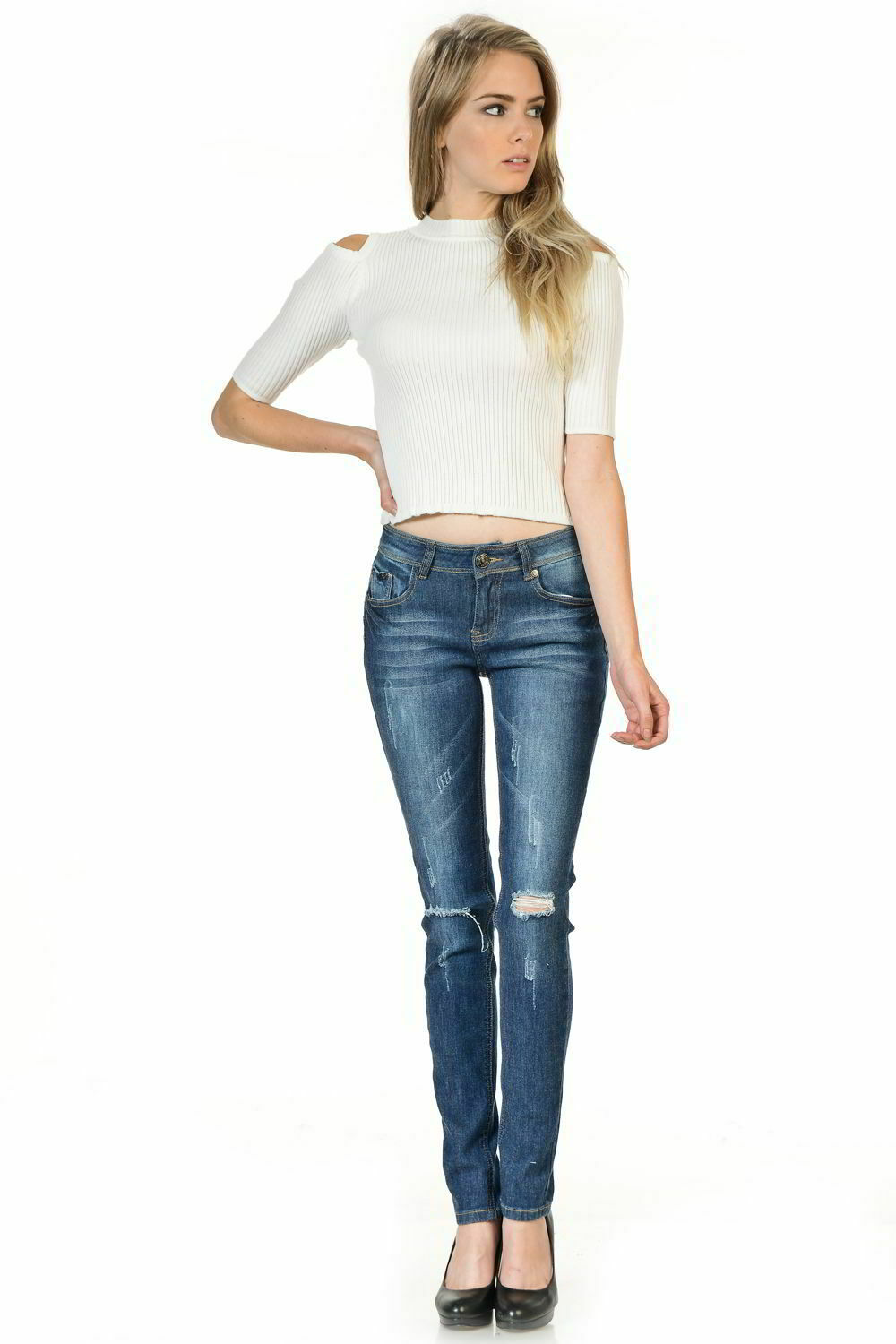 Sweet Look Premium Edition Women's Jeans - Skinny - Style M523-R
