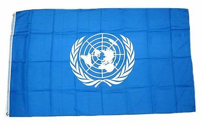 Fahne / Flagge UNO Vereinte Nationen NEU 90 x 150 cm