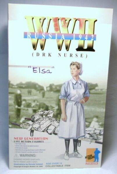 1/6 Scale 12 DRAGON 1/6 SCALE WWII GERMAN ELSA KLEBER DRK