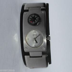 man damen unisex armbanduhr mit kompass abyss kompass uhr. Black Bedroom Furniture Sets. Home Design Ideas