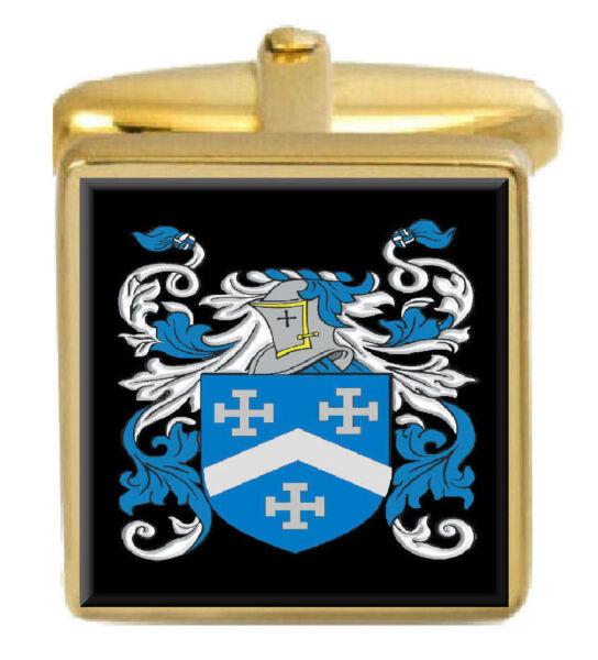 Der GüNstigste Preis Maclean Schottland Familie Wappen Familienname Gold Manschettenknöpfe Graviert