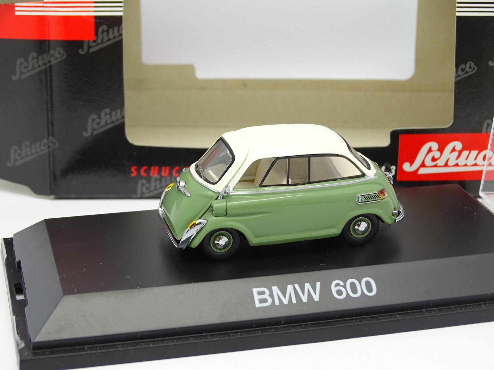 Schuco 1 43 - BMW 600 verde