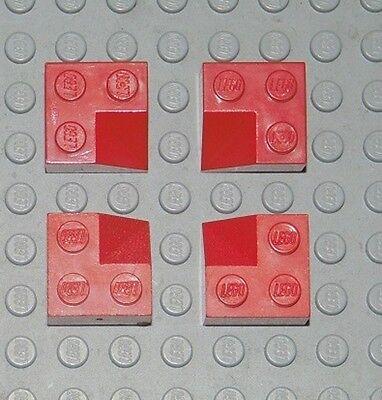 LEGO 8 x  Dachstein Ecke Außenecke 3045 rot Slope Roof Stone Creator City Haus