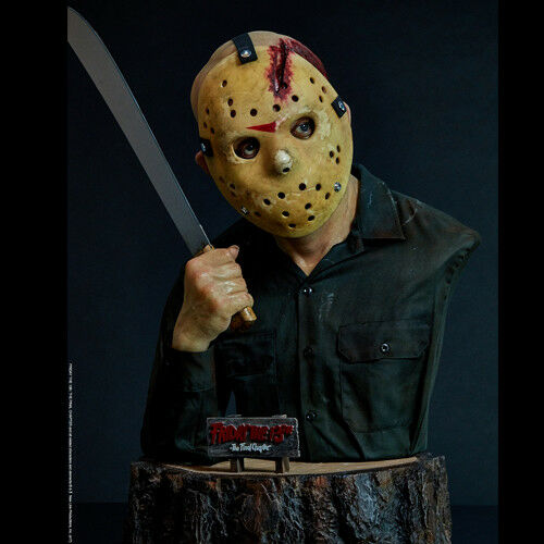 FRIDAY 13 - Jason Voorhees Life-Size 1 1 Bust Elite Creature Collectibles
