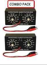 Unassembled Elenco K-38 Capacitor Substitution Box Soldering Kit