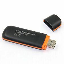 HOT! 7.2Mbps HSDPA USB 2.0 Modem TF card Adapter SIM SD Wireless 3G Dongle MIR U