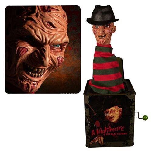 Mezco Toys Nightmare on Elm Street Freddy Krueger Burst-A-Box In Stock