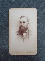 Antique Victorian CDV Carte De Visite VICTORIAN GENT By A & G Taylor Dated 1870s