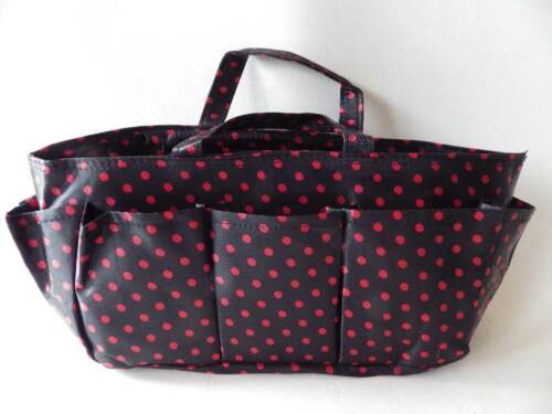 ROBUST STORAGE ORGANISER BAG crafts sew knit jewellery making REDUCED TO CLEAR