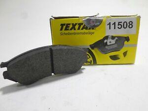 Tabletas Pastillas Freno Delanteros Front Brake Pad Set TEXTAR Primera 2.0 1991