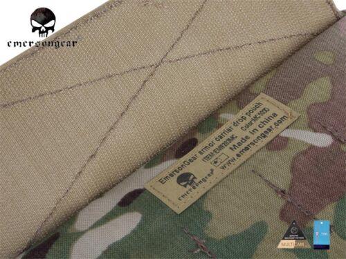 Portador de caza Molle Bolsa Emerson armadura gota Táctico Bolsa//AVS JPC CPC EM9283