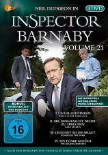 INSPECTOR BARNABY - VOL.21 4 DVD NEU