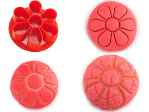 "3.5 "" Rose Pan Dulce Stamp Rose Concha Stamp Pan Dulce Cutter"