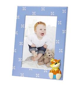 Details Zu Simon Kinder Bilderrahmen In Blau 10x15 Cm Metall Fotorahmen Portrat Rahmen