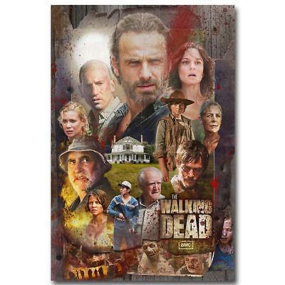 X-74 The Walking Dead Season 7 Hot USA TV Series Wall Poster Art 20x30 24x36IN