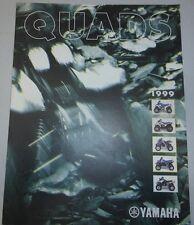 YAMAHA CATALOGUE 1999 QUAD badger breeze blaster warrior banshee  COMPETITION