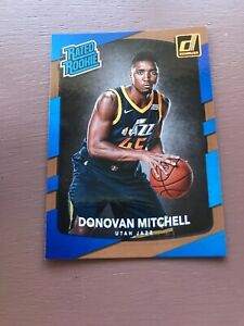 2017-18-Panini-Donruss-Donovan-Mitchell-Rookie-Basketball-Card-188