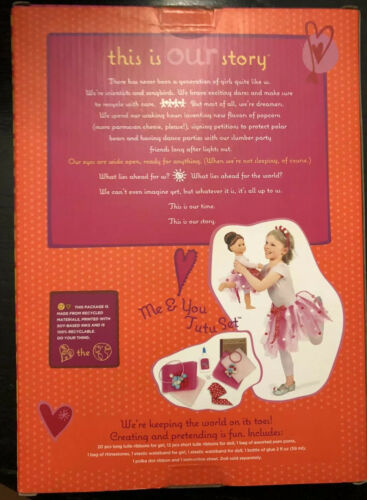 """Fun /& Creative for 18/"""" Doll NEW Our Generation Me /& You Ballerina Tutu Set"""