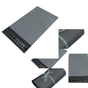 GREY-UK-Plastic-Strong-Packaging-Postal-Polythene-Mailing-Bag-ALLSizes-Mail-Bags