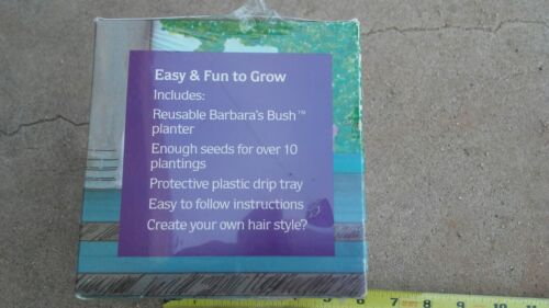 1991 BARBARA/'S BUSH Chia planter IN ORIGINAL BOX naughty novelty vintage /'91 NOS