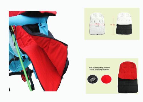 Foot muff infant baby sleeping bag to fit Nuna strollers warm winter blanket new