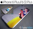 Funda silicona transparente dibujos personajes para iphone 6 Plus / 6S Plus
